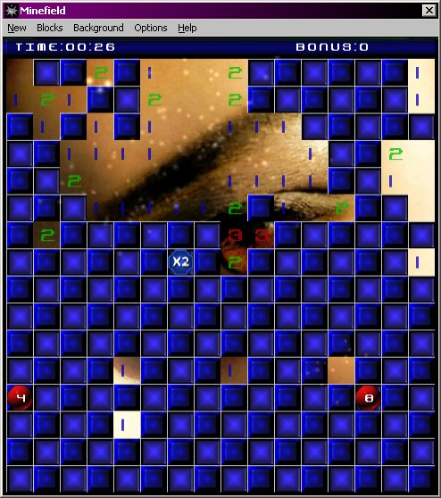 Screenshot of MineField