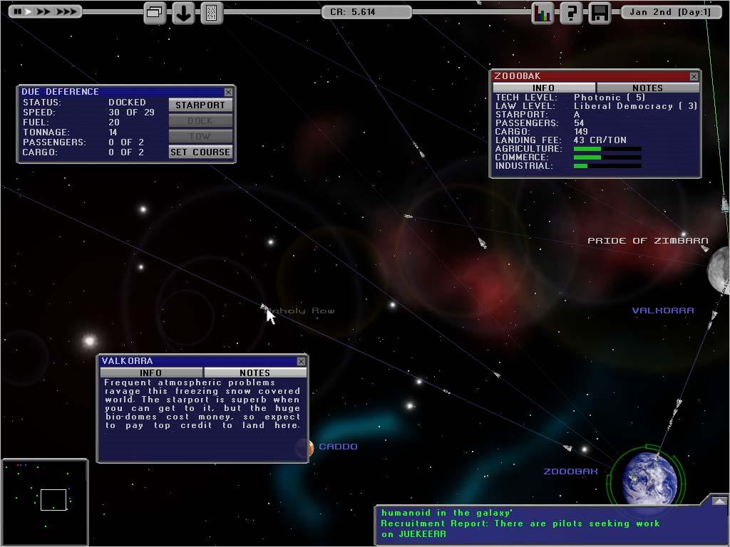 Screenshot of Starship Tycoon