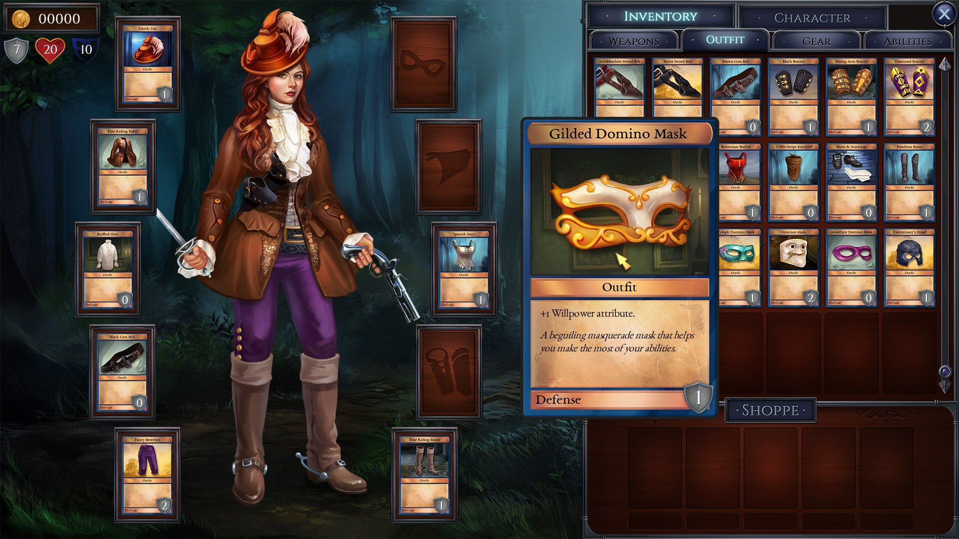 Shadowhand : The card-battling adventure game